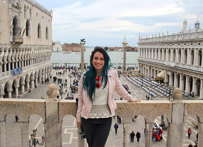 vista sacada basilica san marco veneza