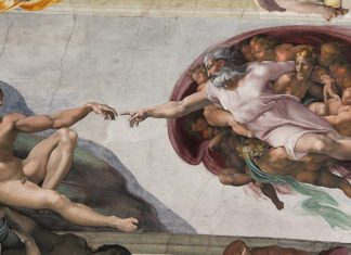 afresco capela sistina michleangelo adao e deus se tocando