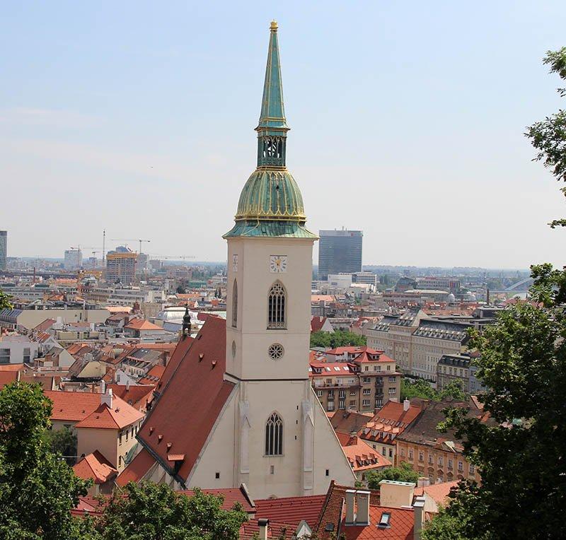 catedral st martin bratislava torre