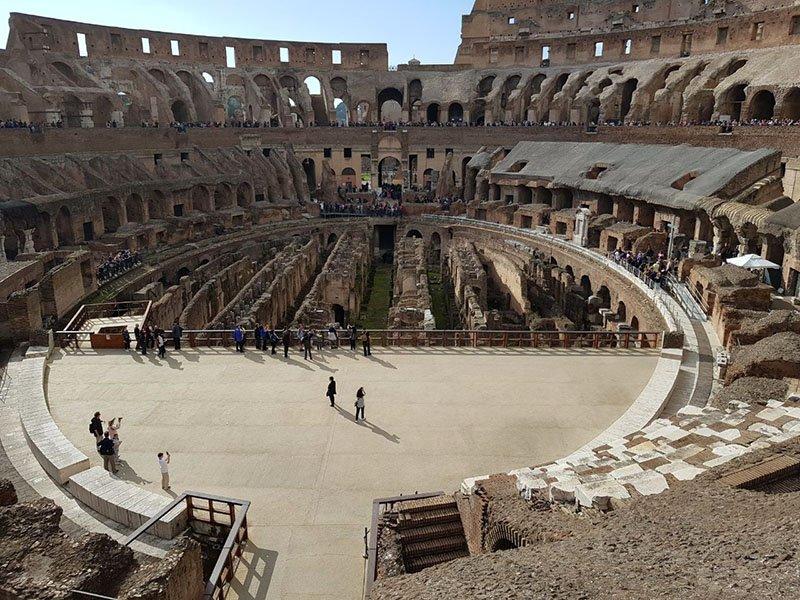 centro do coliseu em roma entrada ingresso