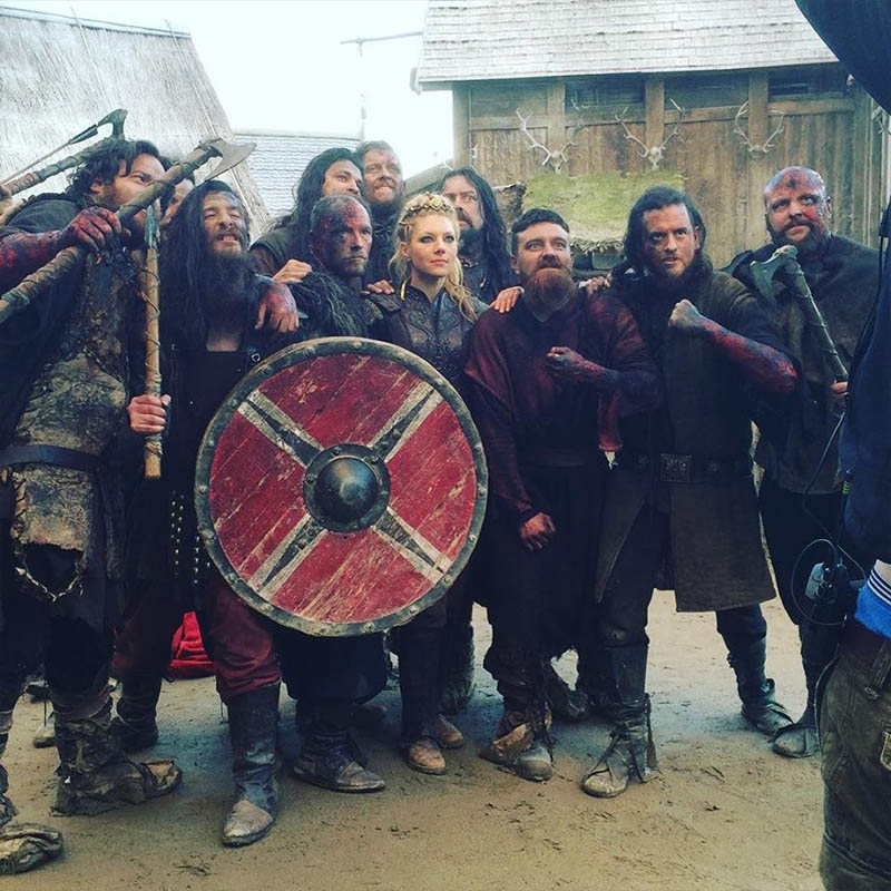 como participar de gravacoes de serie de tv vikings irlanda lagertha