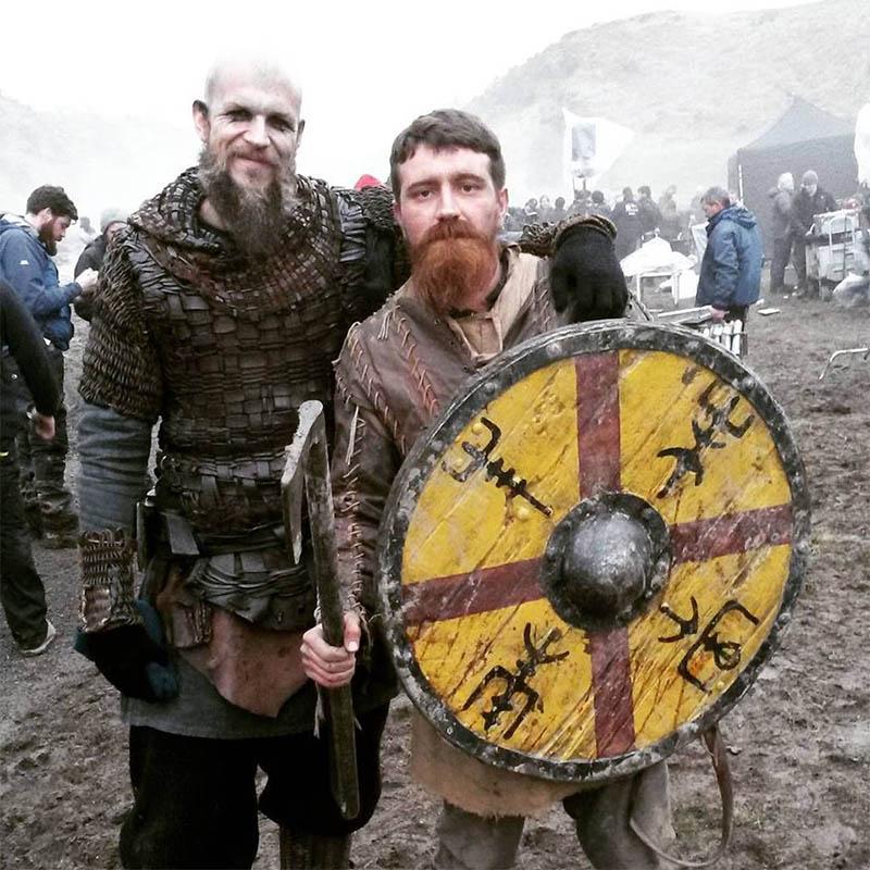 como trabalhar em serie de tv na irlanda vikings loki