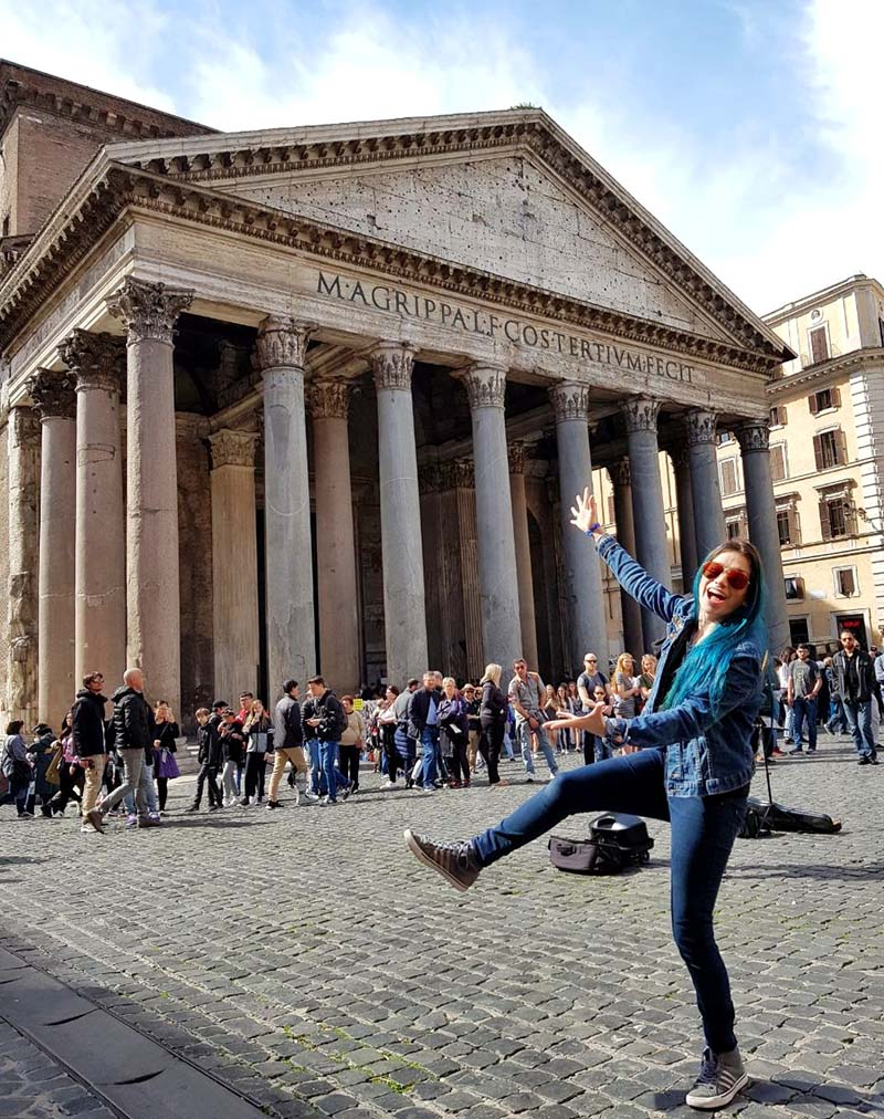 dicas em roma 3 dias pantheon