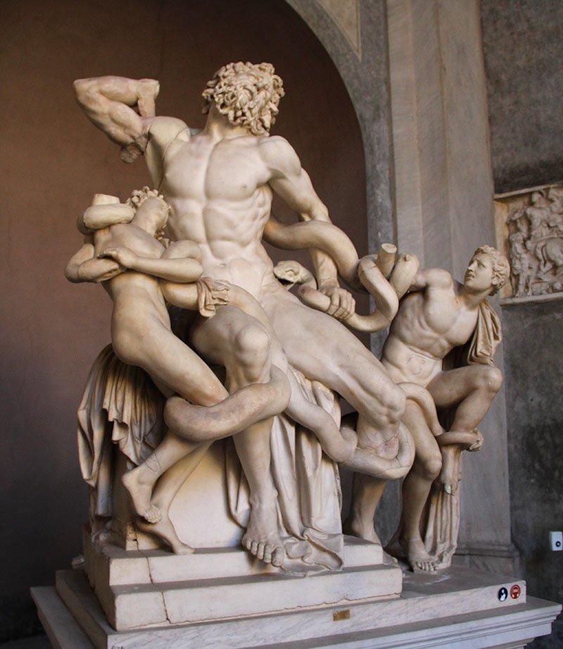 escultura laoconte museus vaticanos dicas