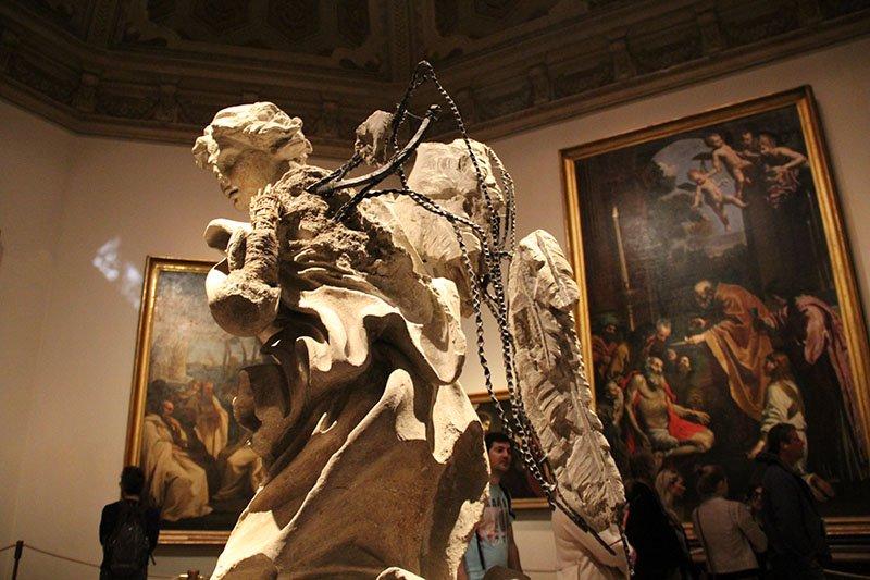 estatua anjo bernini vaticanos