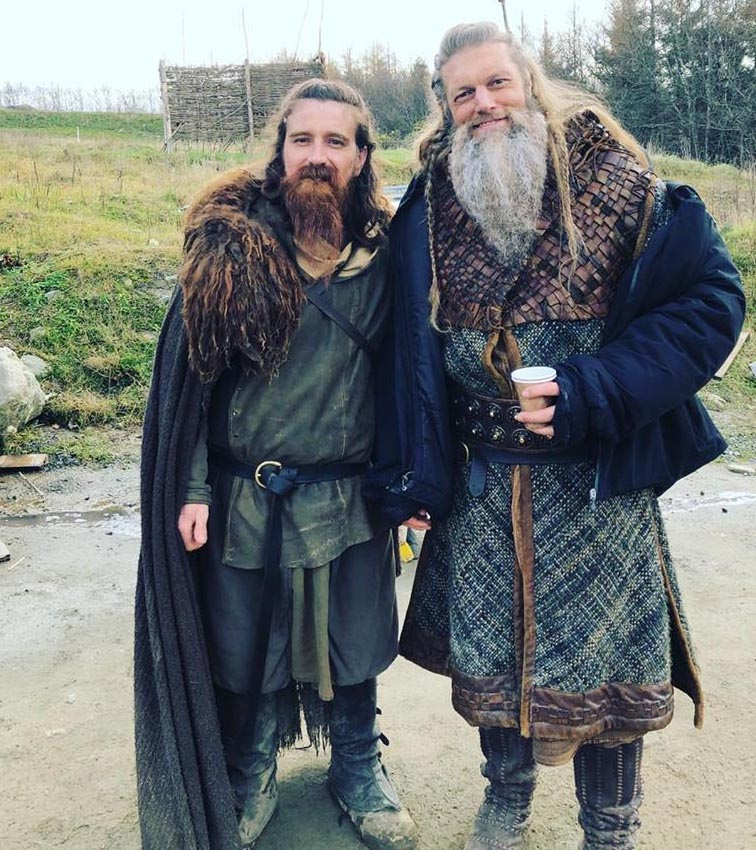 figurino vikings serie tv