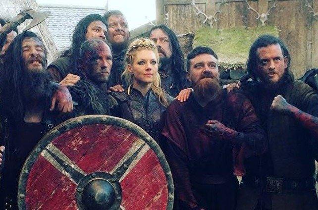 gravacoes de vikings na irlanda brasileiro extra