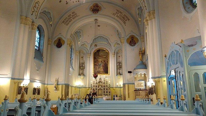 igreja azul bratislava dicas