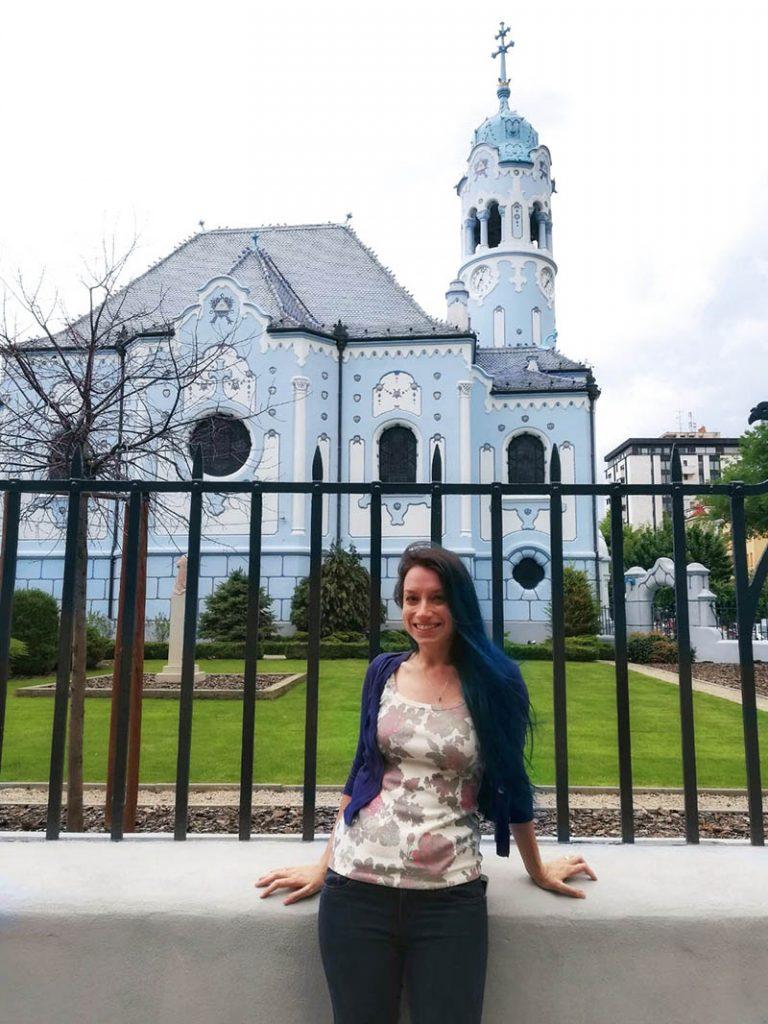 igreja azul santa isabel roteiro bratislava 2 dias