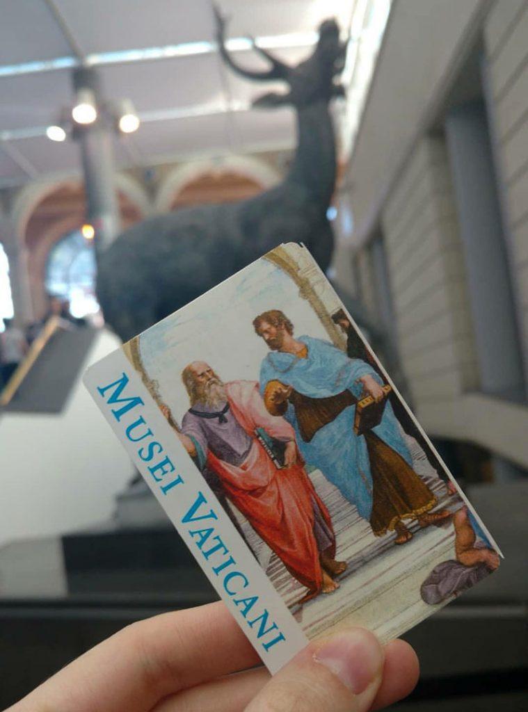 ingresso museu vaticano como comprar