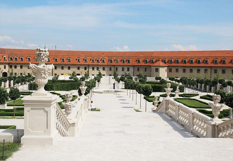 jardins castelo bratislava gratis
