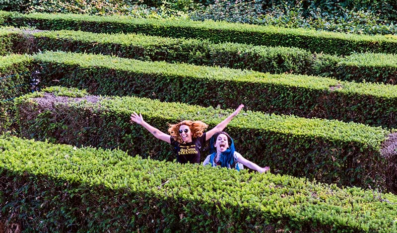 labirinto palacio schonbrunn viena
