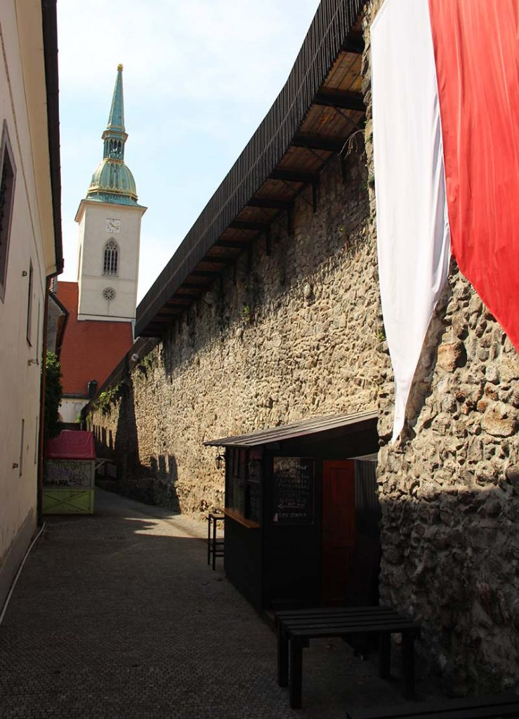 muralha bratislava eslovaquia