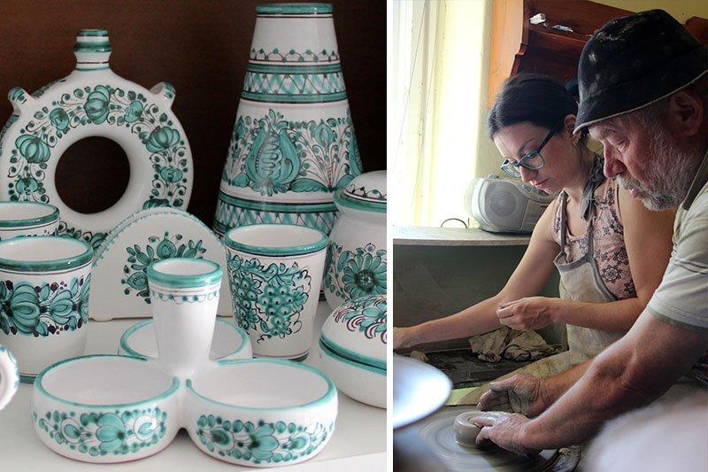 o que fazer na eslovaquia ceramica modra