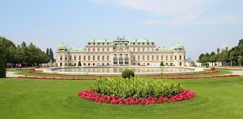 palacio belvedere o que visitar em viena