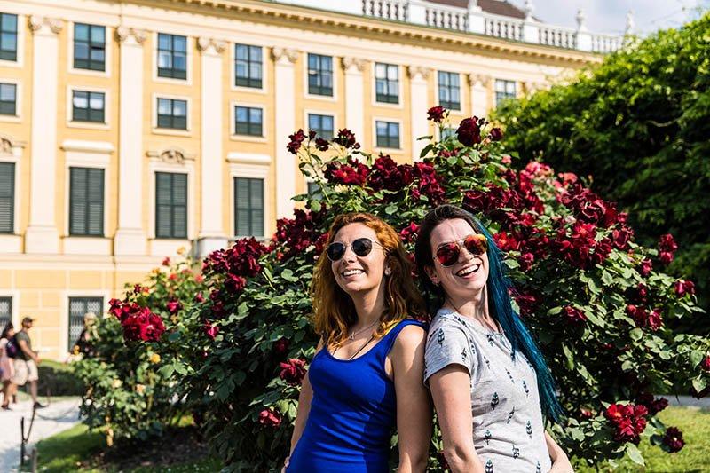 palacios da austria schonbrunn vida cigana