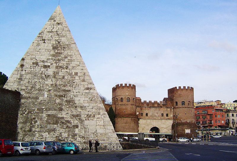 piramide caio cestio roma