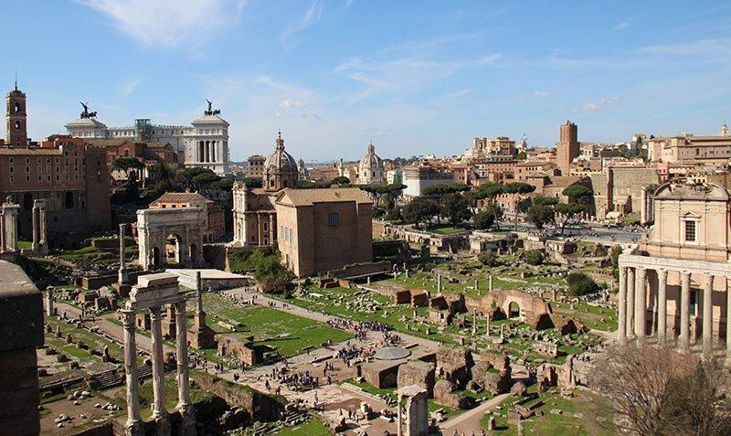 turismo em roma forum romano