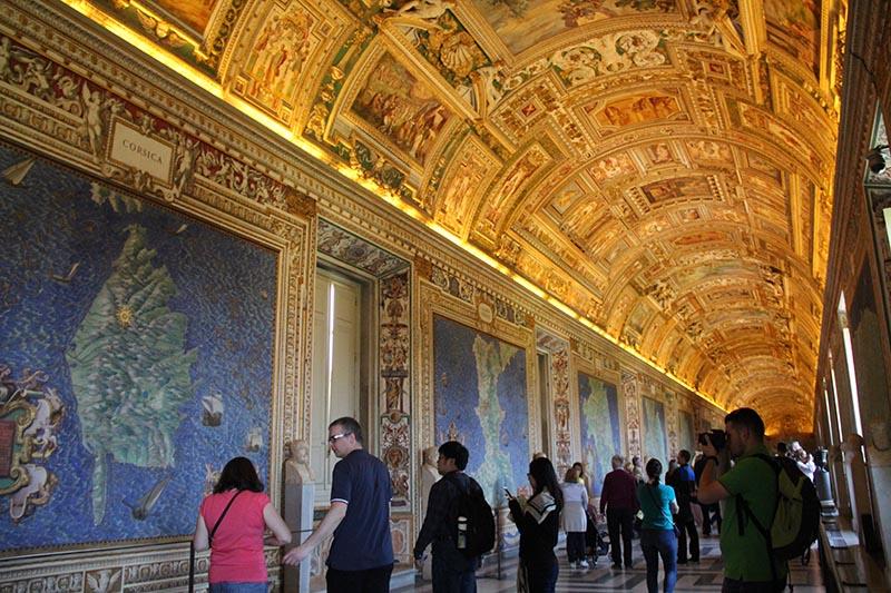 sala dos mapas vaticano