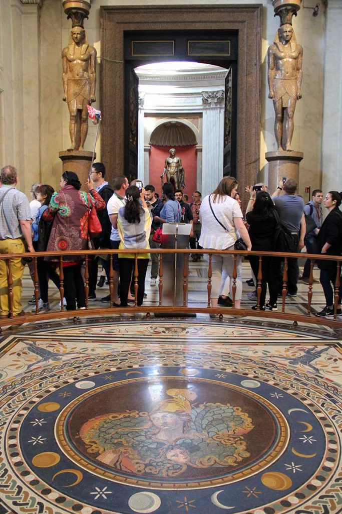 sala mosaico museus vaticanos
