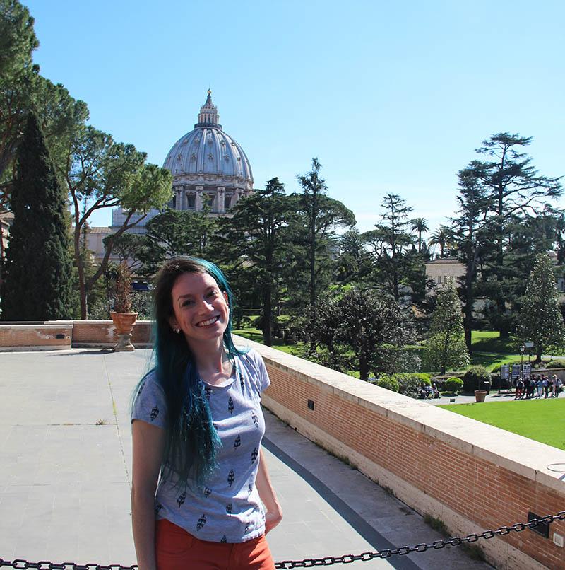terraco vista basilica jardins museu do vaticano dicas