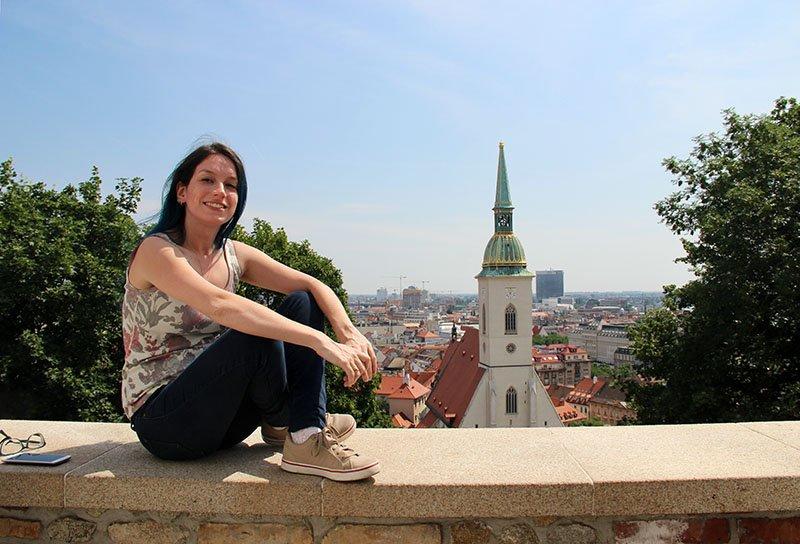 vista castelo igreja bratislava o que fazer na eslovaquia