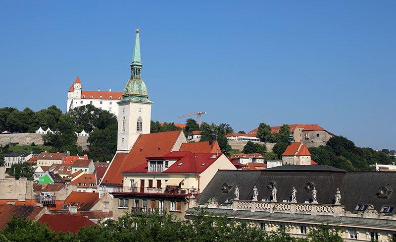 vista hotel radisson bratislava eslovaquia