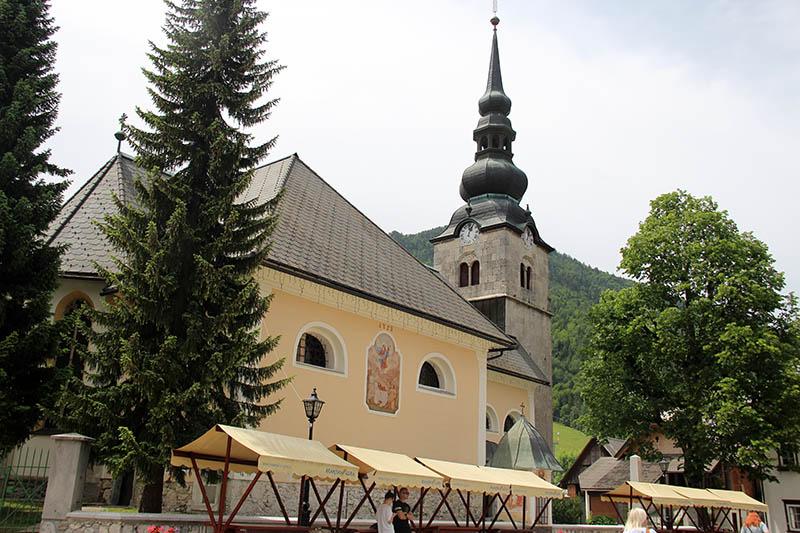 Kranjska Gora igreja eslovenia