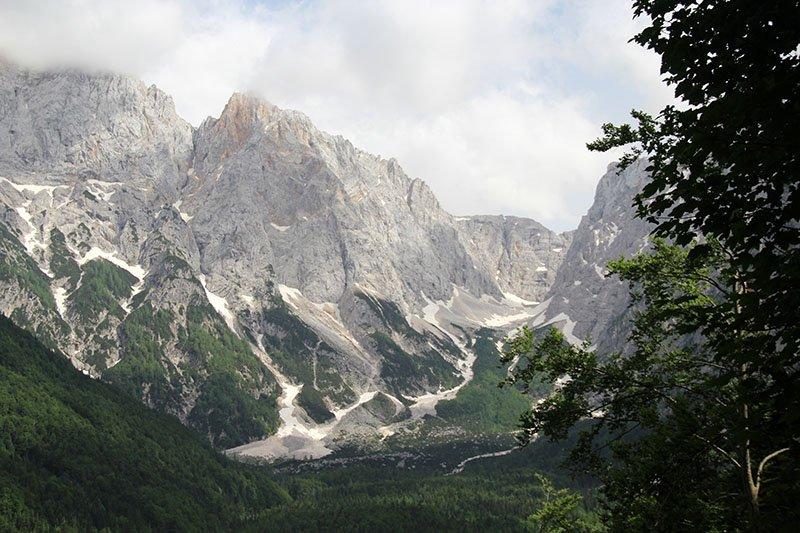 alpes julianos eslovenia paisagens montanha