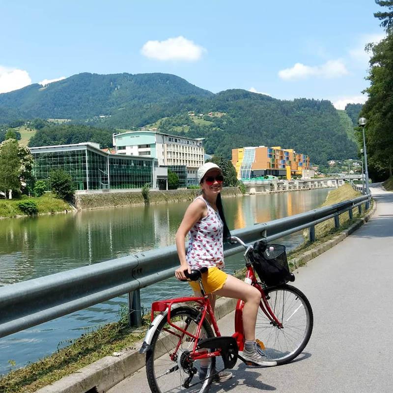 alugar bicicleta eslovenia lasko
