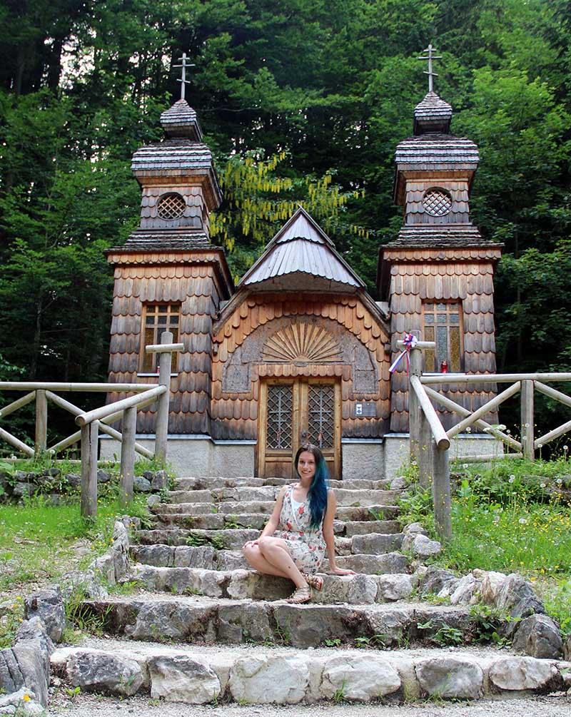 capela russa parque triglav eslovenia