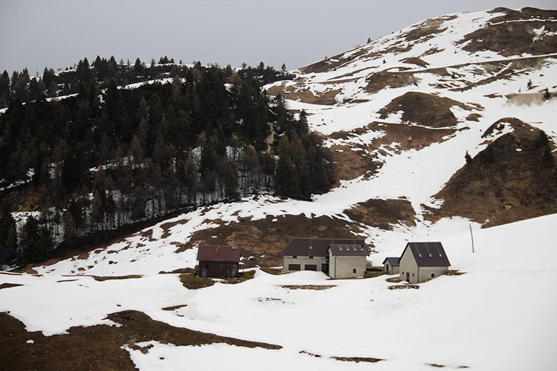 casinhas na neve monte grappa