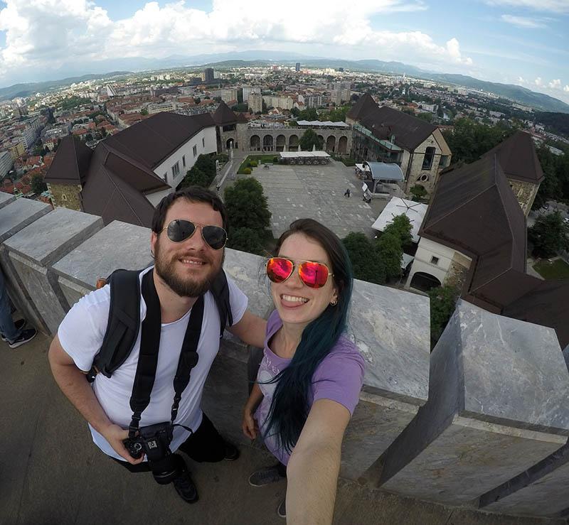 castelo de liubliana roteiro na eslovenia