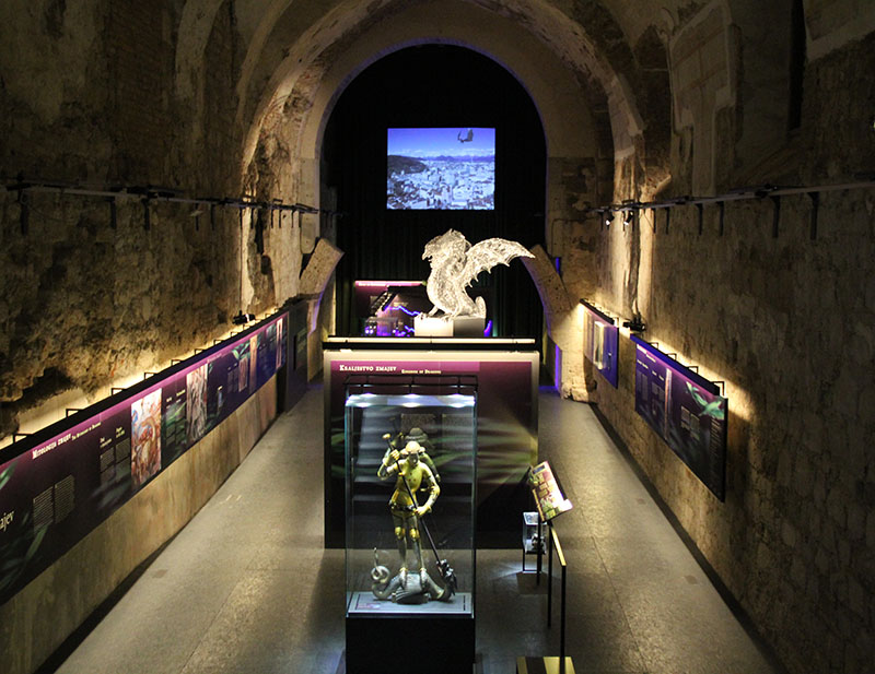 exposicao sobre dragoes castelo de liubliana
