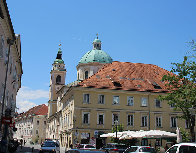 igreja liubliana catedral eslovenia