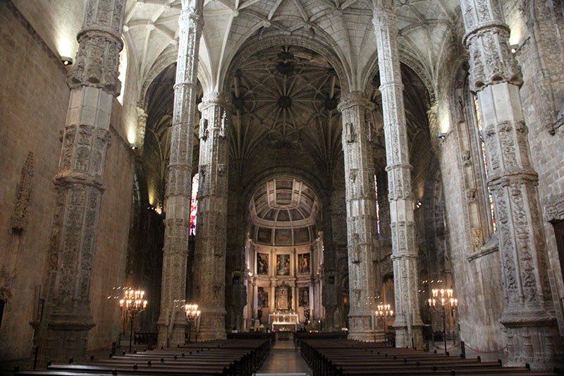 igreja mosteiro dos jeronimos belem lisboa