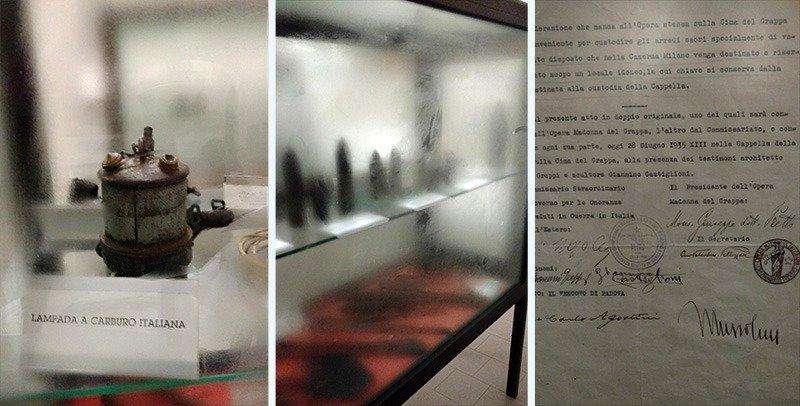 museu monte grappa carta mussolini