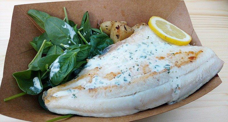 o que comer em bovec peixe