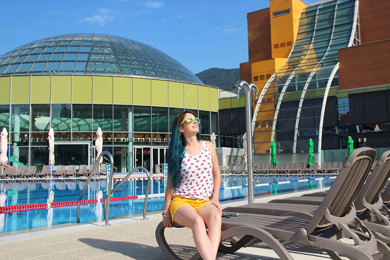 piscina eslovenia hotel thermana Laško