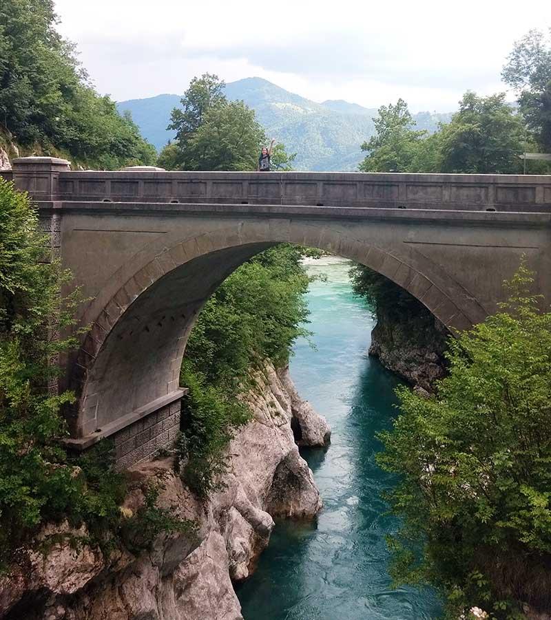 ponte napoleao kobarid soca valley