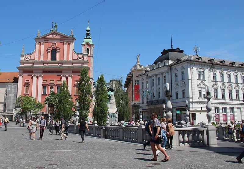 ponte tripla liubliana eslovenia