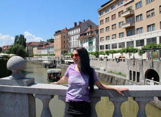 pontes em liubliana passeio de barco