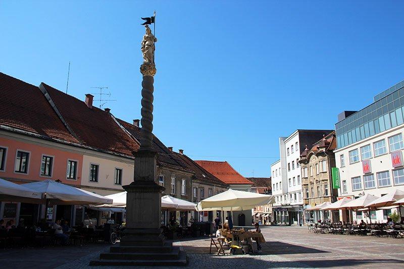 praça em maribor eslovenia