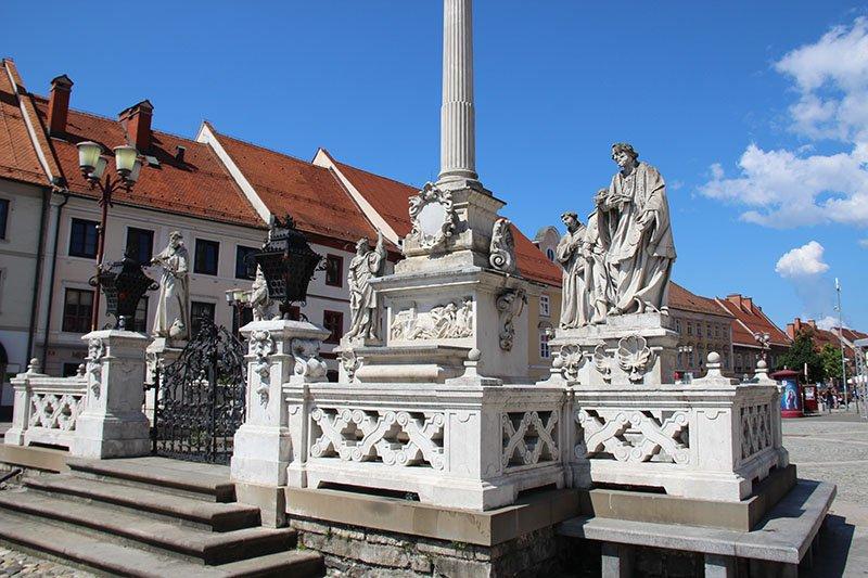 praça principal maribor eslovenia
