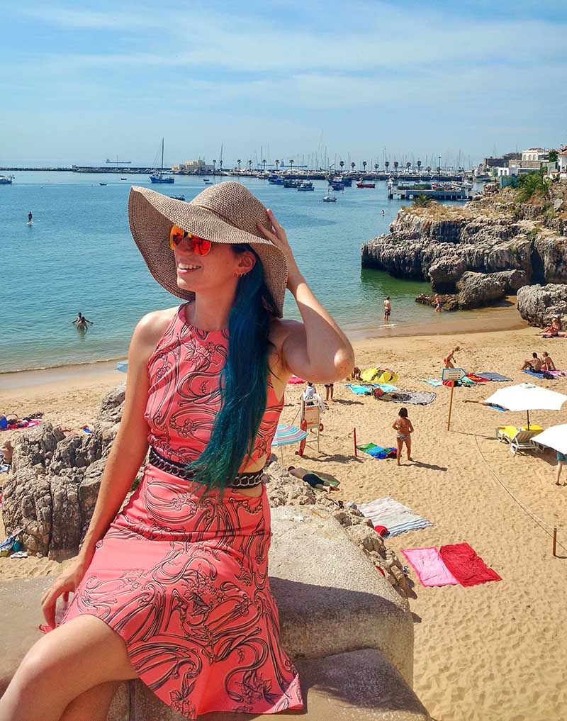 praia da rainha dicas de cascais portugal