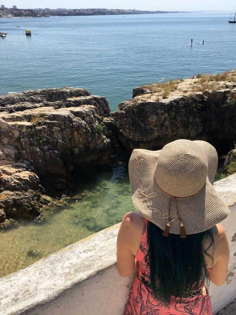 praias de cascais praia da rainha dicas