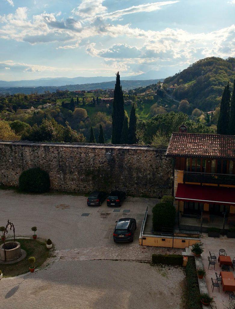 restaurante castelo marostica veneto italia