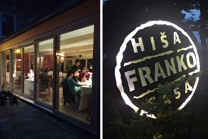 restaurante em kobarid premiado hisa franko