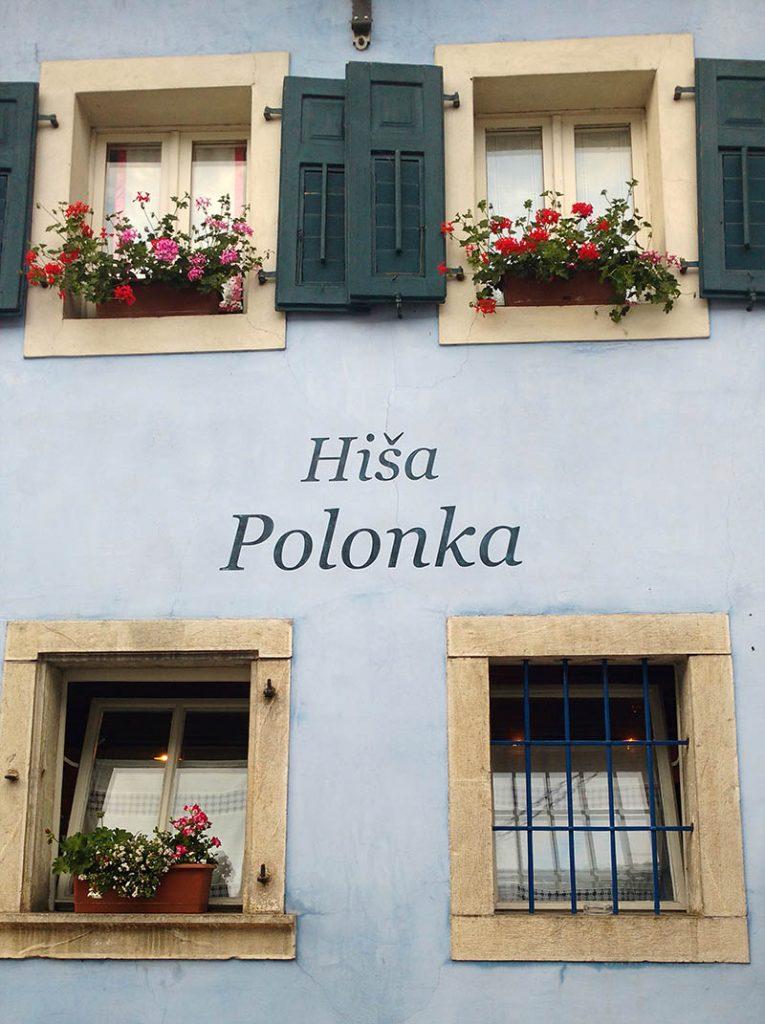 restaurante em kobarid premiado hisa polanka
