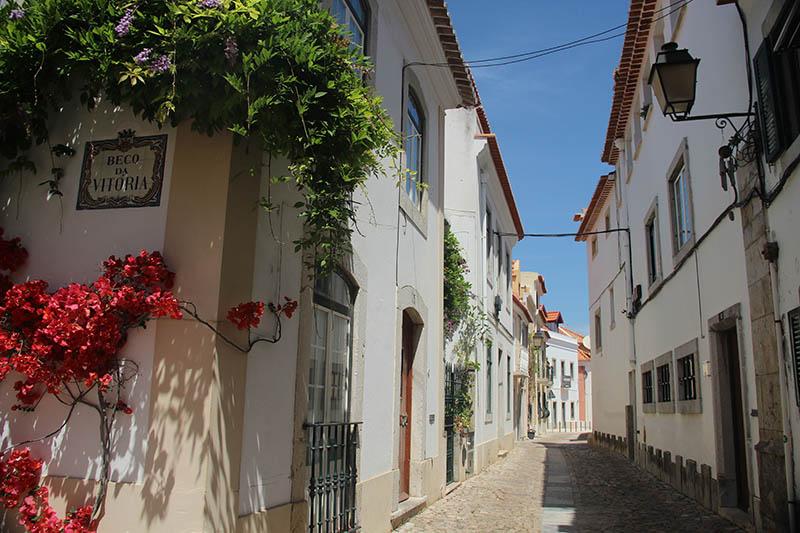 ruas charmosas em cascais portugal